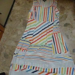 Spring  Maxi Dressby Peter Som Multi-Color stripes